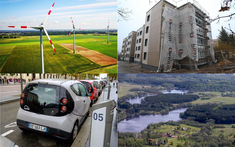 Tarp patvirtintų žaliųjų subsidijų – ir 1.000 Eur įsigyjantiems mažiau taršų automobilį