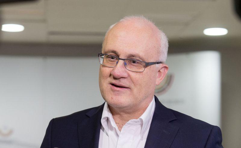 Seimo Biudžeto ir finansų komiteto (BFK) pirmininkas Stasys Jakeliūnas. Juditos Grigelytės (VŽ) nuotr.