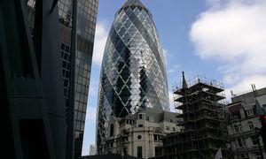 Londono sičio bankai kelia sparnus