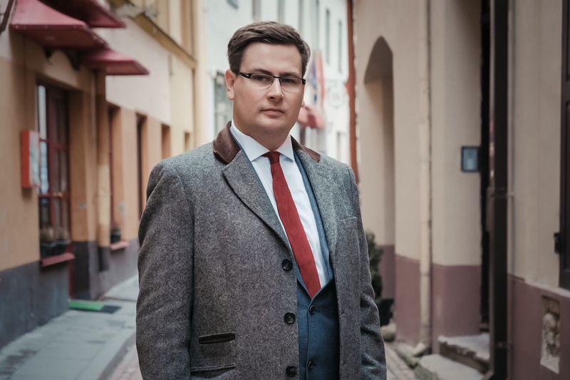 """Vytautas Karalevičius, vienas iš """"SpectroCoin"""" įkūrėjų. Asmeninė nuotr."""