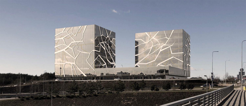 Prie Vilniaus Vakarinio aplinkkelio suplanavo 30.000 kv. m ploto biurų kompleksą