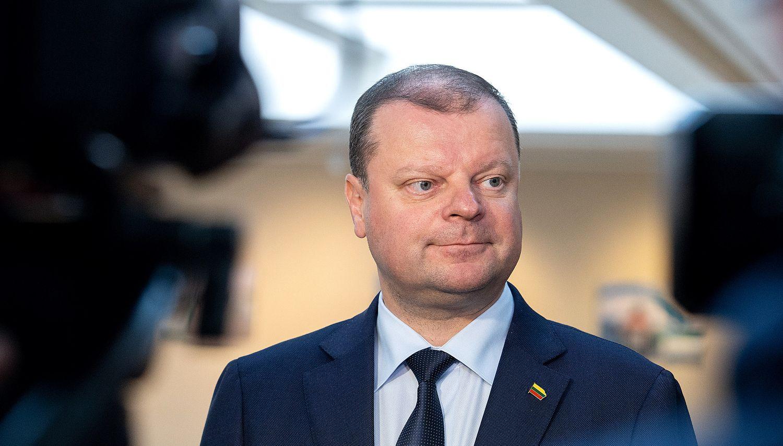 S. Skvernelis: L. Kukuraičio pasiūlymas dėl atlyginimų vežėjams – kompromisinis