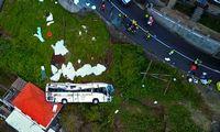 Per autobuso avariją Portugalijoje žuvo 29 žmonės