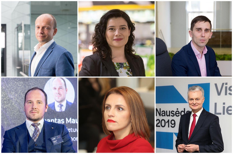 Komunikacijos lyderiai: G. Nausėda atlaisvino vietą T. Povilauskui