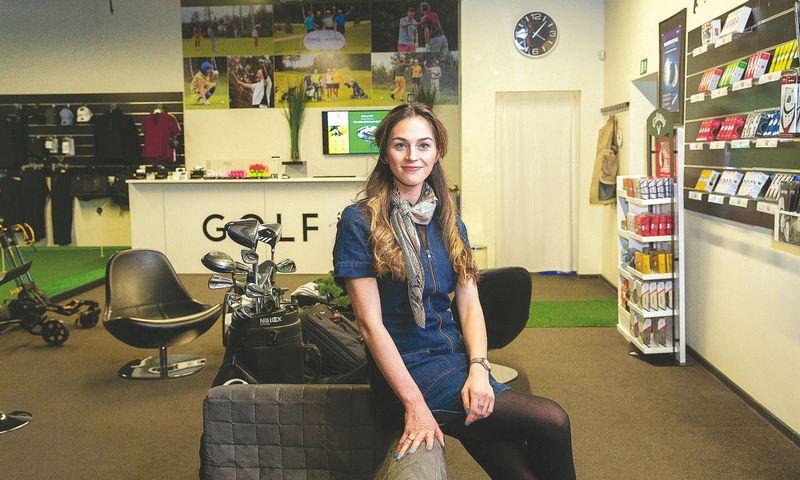 """Greta Šidlauskienė, viena iš """"OnePass"""" įkūrėjų sako, kad tikslinė platformos auditorija yra dirbantys ir jau sportuojantys arba planuojantys tai daryti 25–45 metų amžiaus miestų ir priemiesčių gyventojai. Juditos Grigelytės (VŽ) nuotr."""