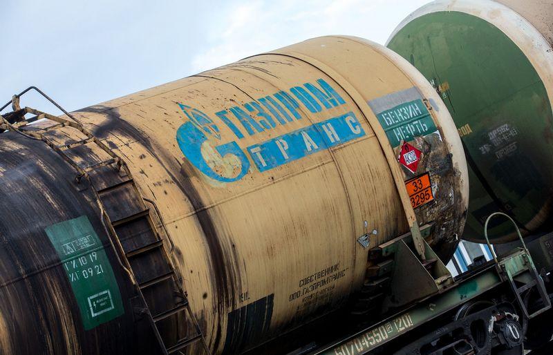 """Skolų išieškotojai neranda """"Gazprom"""" turto Lietuvoje. Juditos Grigelytės (VŽ) nuotr."""