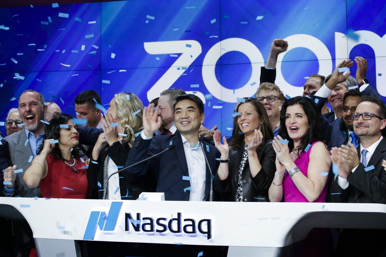 Kreiva investuotojų akis: akcijos pašoko 56.000% vien dėl pavadinimų sąskambio
