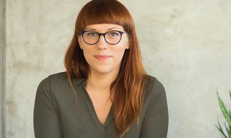 Lietuvos socialinio verslo asociacijos direktorė Simona Laiconaitė.