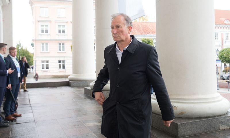 Dalius Gesevičius, AB Panevėžio statybos trestas generalinis direktorius. Juditos Grigelytės (VŽ) nuor.