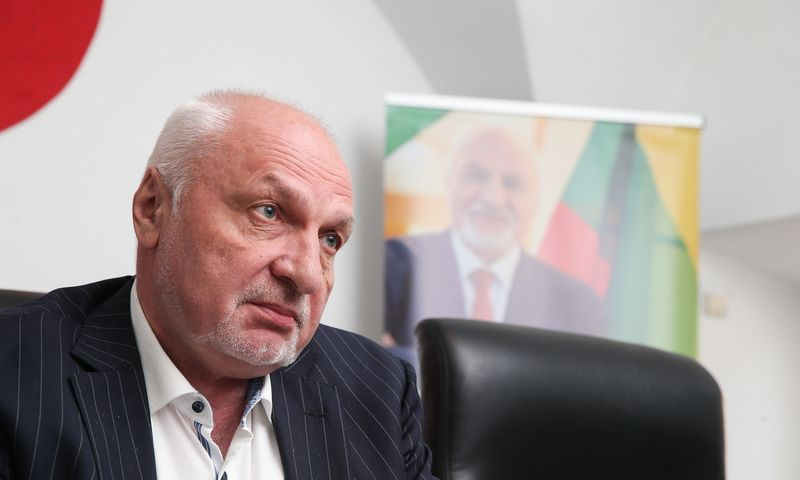 Kandidatas į prezidentus Valentinas Mazuronis. Vladimiro Ivanovo (VŽ) nuotr.