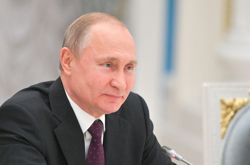 """Vladimiras Putinas. Alexei Druzhinin (""""Scanpix""""/""""Reuters""""/""""Sputnik"""") nuotr."""