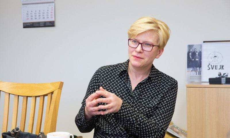 Ingrida Šimonytė, Seimo narė, kandidatė į Lietuvos prezidentus. Juditos Grigelytės (VŽ) nuotr.