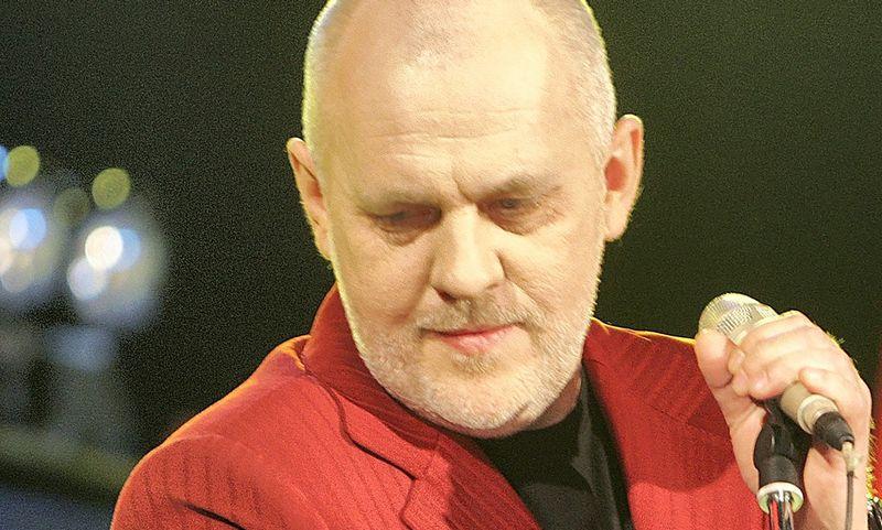 """Ovidijus Vyšniauskas prisimena per naktį parašęs dainą tarptautiniam konkursui, su kuria užėmė paskutinę vietą su nuliu taškų. Martyno Vidzbelio (""""15min"""") nuotr."""