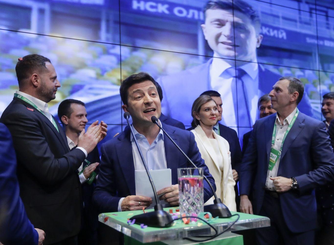 V. Zelenskio pergale rinkimuose neabejoja ir jo oponentas