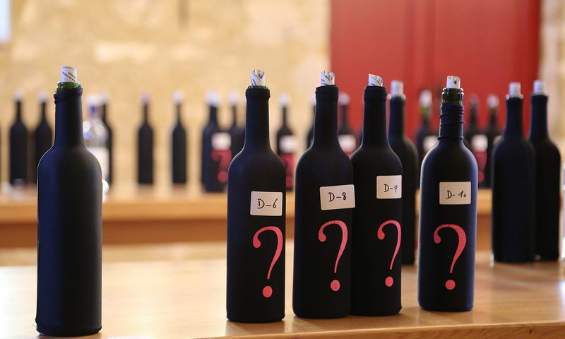 Pesako vynų degustacija Bordo vyno savaitėje. Arūno Starkaus nuotr.