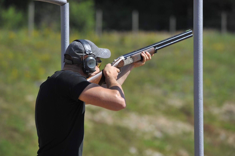 Molinių taikinių jau neužtenka – Švenčionyse kuria interaktyvią šaudyklą