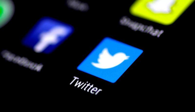 """Tarp labiausiai investuotojus pradžiuginusių - """"Twitter"""". Thomas White (""""Reuters"""" / """"Scanpix"""") nuotr."""