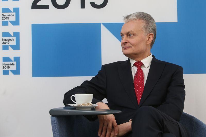 Gitanas Nausėda. Vladimiro Ivanovo (VŽ) nuotr.
