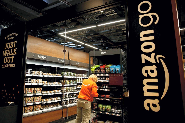 �Amazon Go�: ateities parduotuv� ar tik gra�us fasadas