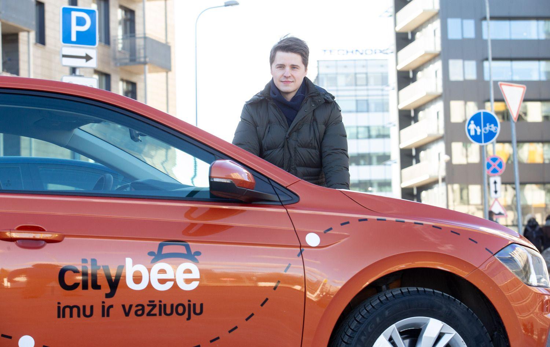 �CityBee� startavo Latvijoje ir Estijoje: prad�ia � krovininiai automobiliai