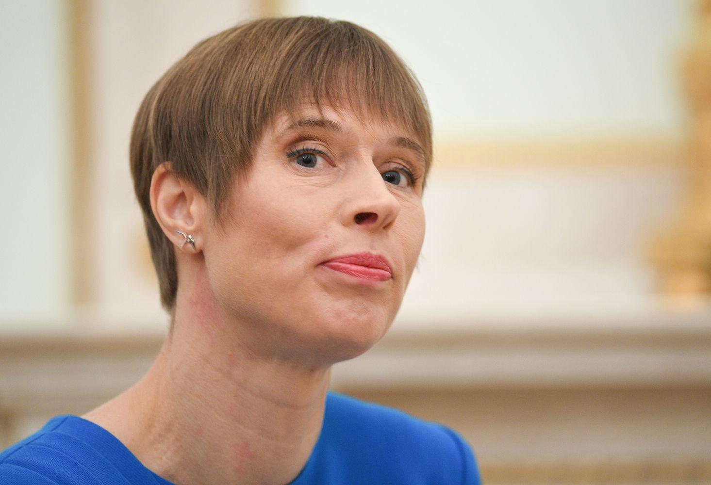 Estijos prezidentė patvirtinokoalicinę vyriausybę