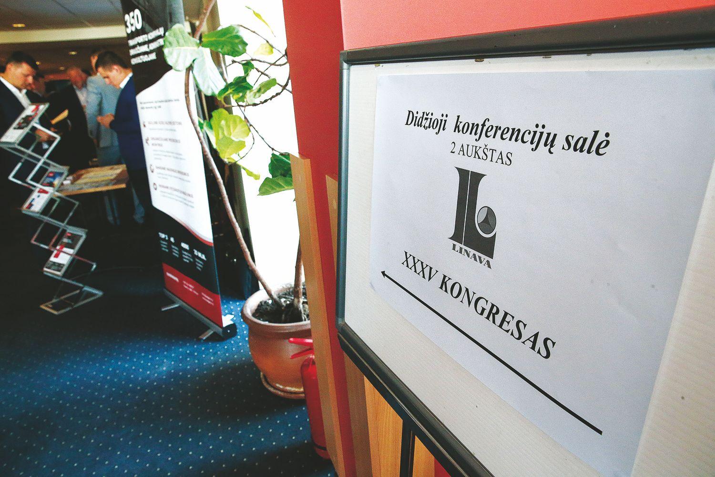 """""""Linavos"""" kongrese – aktyvumo antirekordas ir atviri pokalbiai apie verslo iškėlimą iš Lietuvos"""
