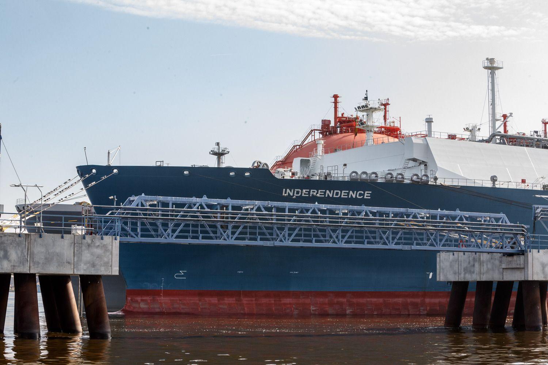 """Į Klaipėdą vėl plaukia laivas su """"Novatek"""" dujomis"""