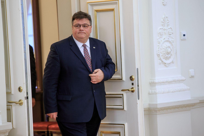 L. Linkevičius susitiko su naujuoju Ukrainos prezidentu