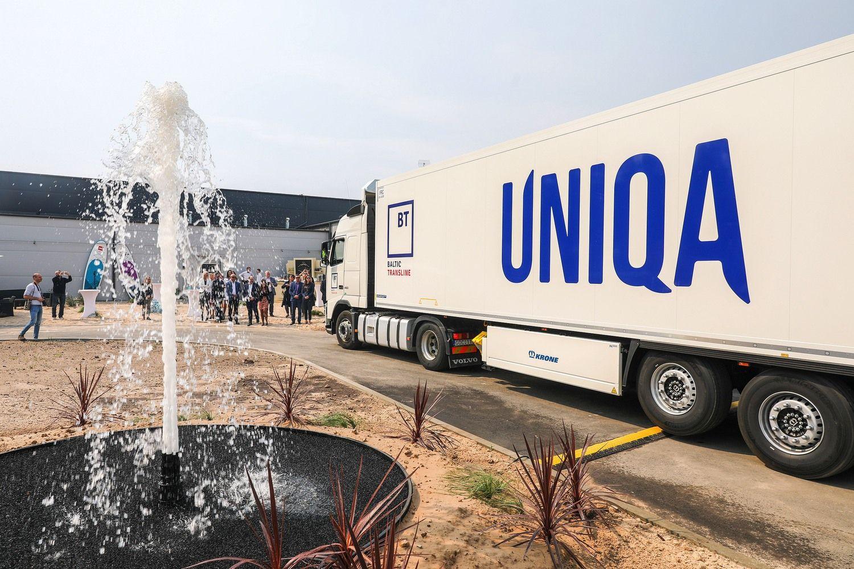 "4 mln. Eur investavęs ""Volfas Engelman"" atidarė mineralinio vandens gamyklą"
