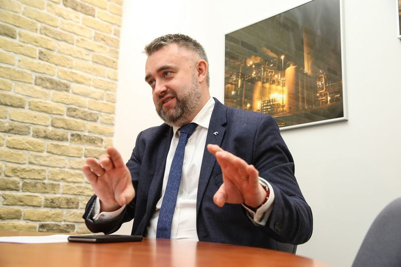"""Michal Rudnicki, AB """"Orlen Lietuva"""" generalinis direktorius. Vladimiro Ivanovo (VŽ) nuotr."""