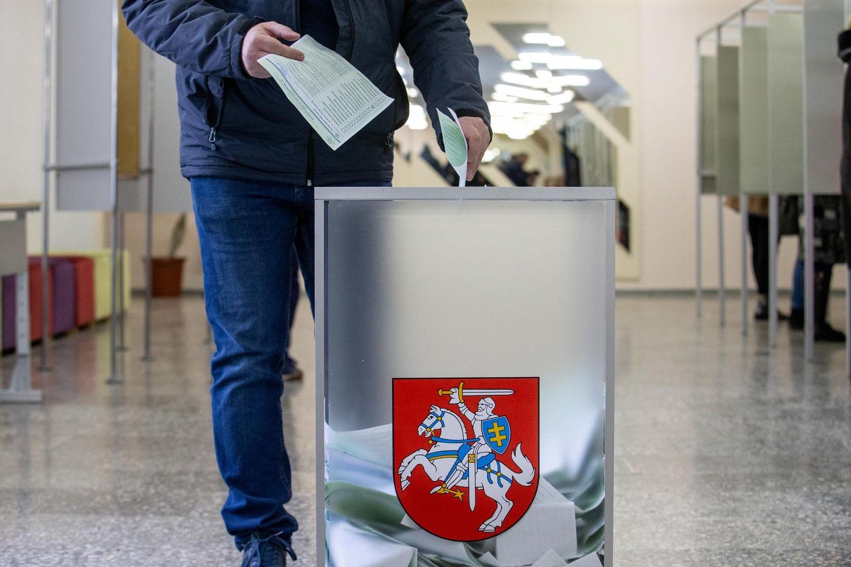 EP rinkimai Lietuvoje: kandidatų sąrašas