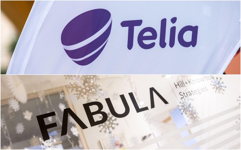 """""""Telia Lietuvos"""" ir """"Fabulos"""" draugystė tęsiasi, RSVA asociacija byra"""