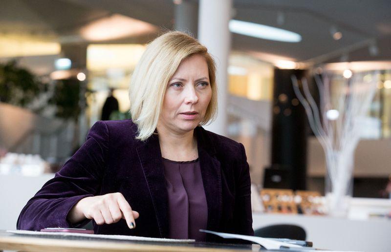 """""""Swedbank"""" valdybos pirmininkė Dovilė Grigienė. Juditos Grigelytės (VŽ) nuotr."""