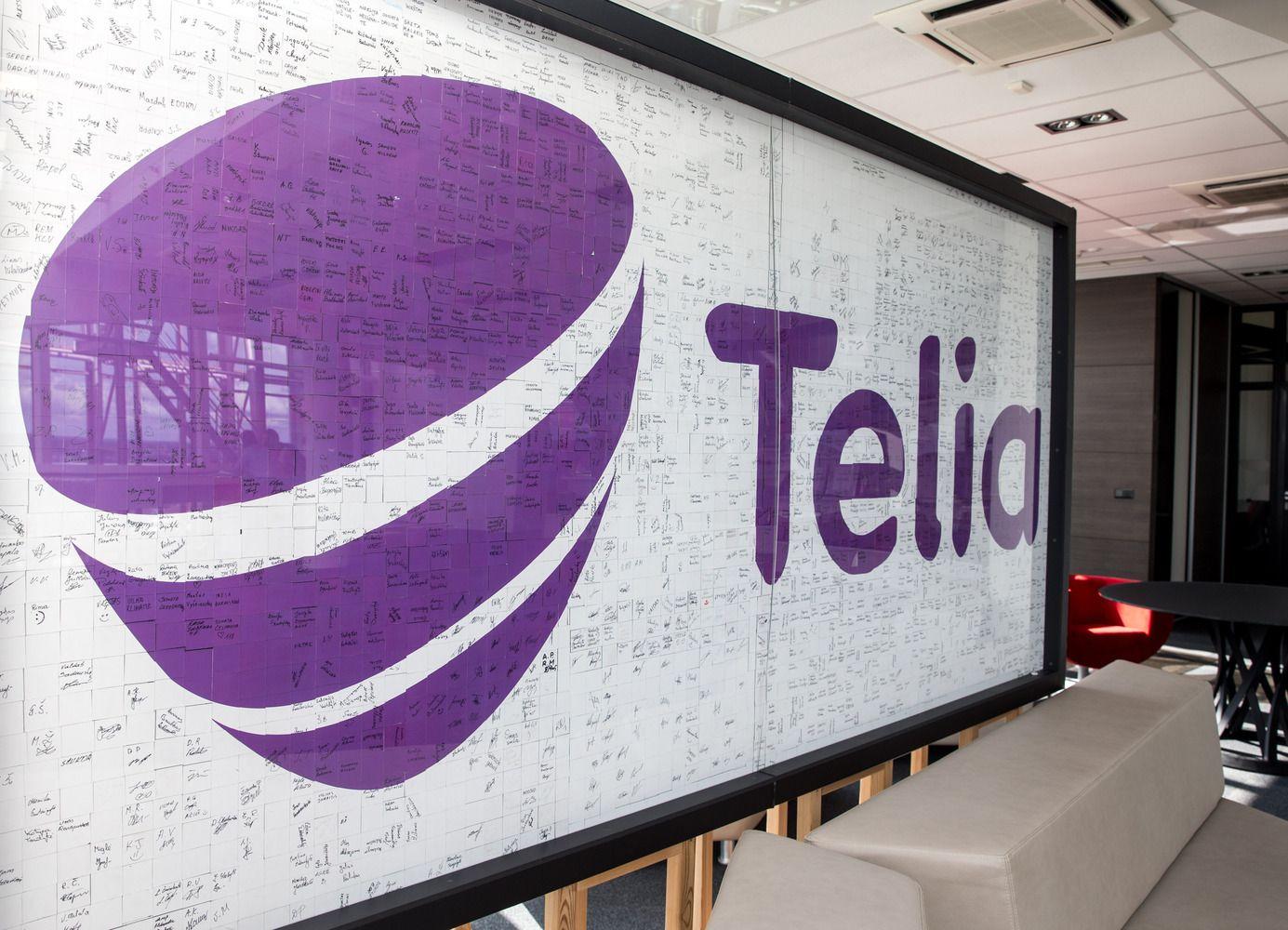 """""""Telia Lietuvos"""" pelnas ir pajamos smuktelėjo 1,8%"""