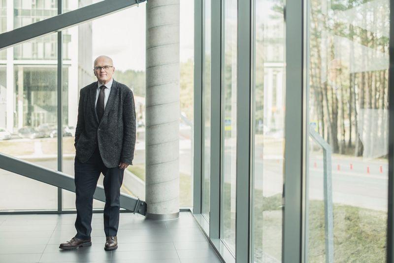 VGTU Mokslo ir inovacijų prorektorius prof. habil. dr. Antanas Čenys.