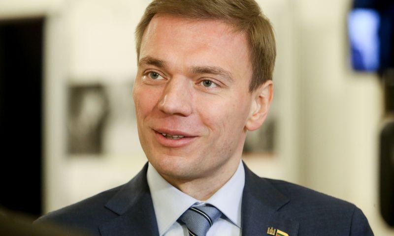 Mindaugas Puidokas, kandidatas į Lietuvos Respublikos prezidentus. Vladimiro Ivanovo (VŽ) nuotr.