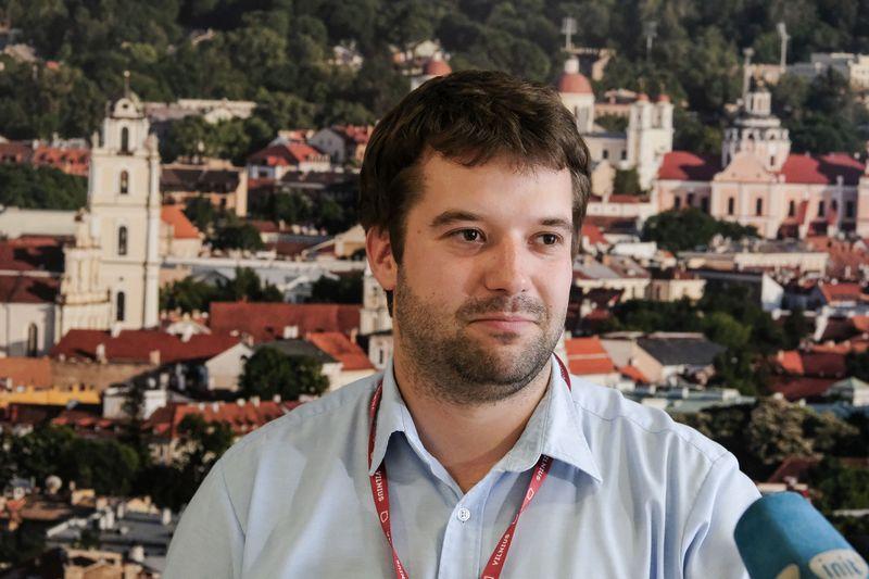 Povilas Poderskis, Vilniaus savivaldybės administracijos direktorius. Vladimiro Ivanovo (VŽ) nuotr.