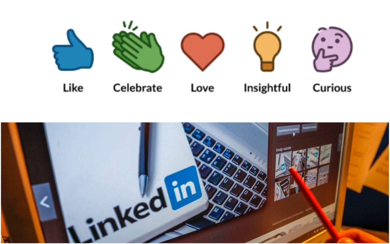 """""""LinkedIn"""" pasuko """"Facebook"""" keliu – leidžia spausti ne tik """"patinka"""""""