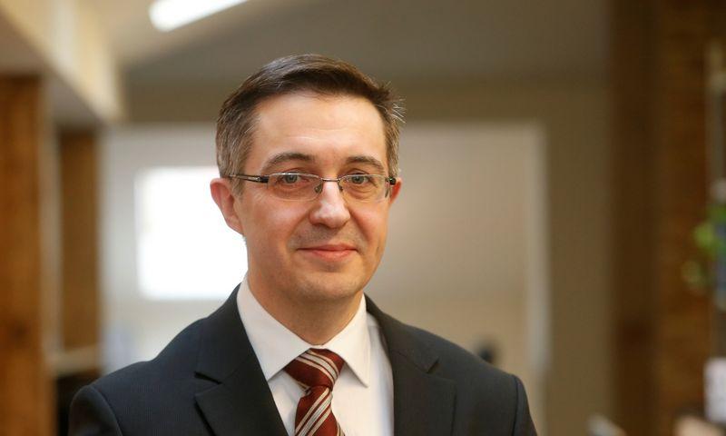 """Eladijus Kirijanovas, UAB """"M-Finance"""" direktorius, finansų analitikų asociacijos prezidentas. Ivanovo (VŽ) nuotr."""