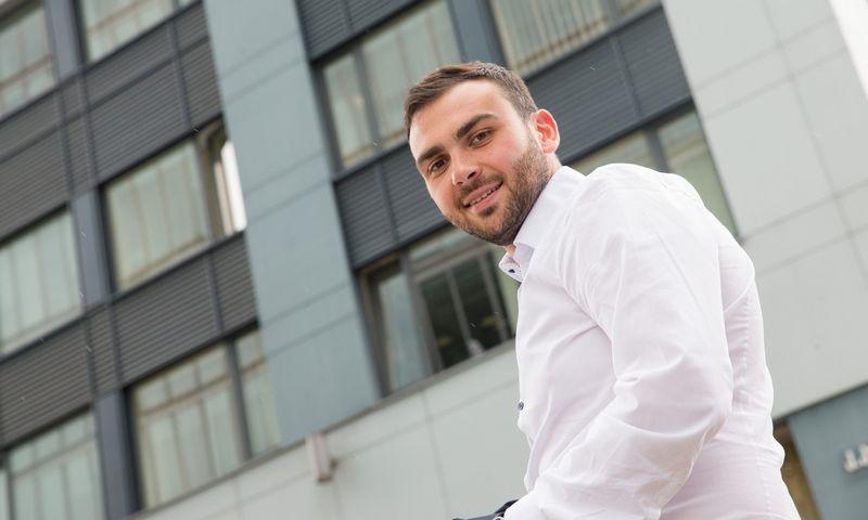 """Gytenis Galkis, investicijų bendrovės """"70 Ventures"""" partneris. Juditos Grigelytės (VŽ) nuotr."""