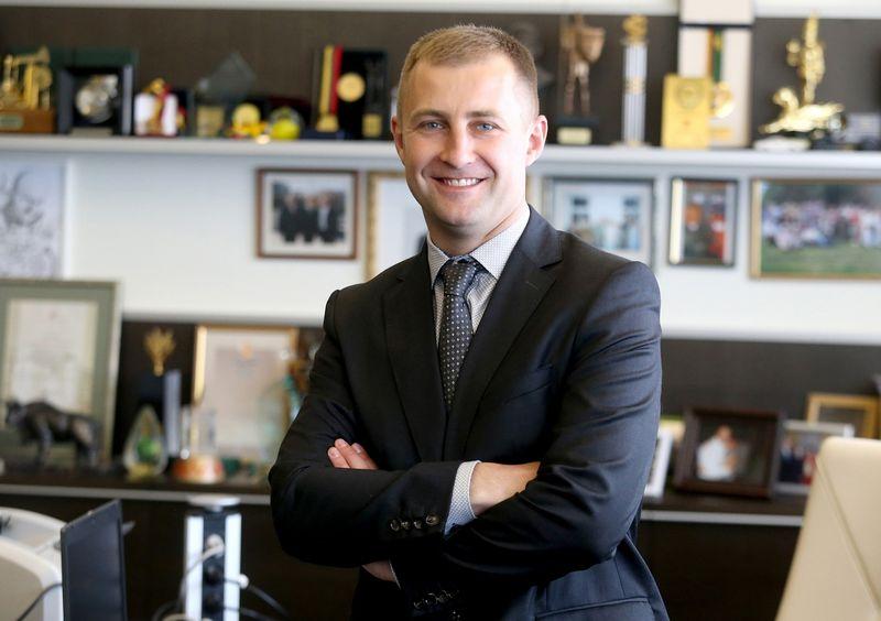 """Šarūnas Matijošaitis, UAB """"Vičiūnų grupė"""" valdybos pirmininkas. Algimanto Barzdžiaus nuotr."""