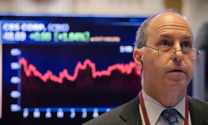 """Niujorko akcijų birža. Brendano McDermido (""""Reuters"""") nuotr."""