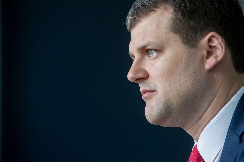 Gintautas Paluckas, Lietuvos socialdemokratų partijos pirmininkas. Juditos Grigelytės (VŽ) nuotr.