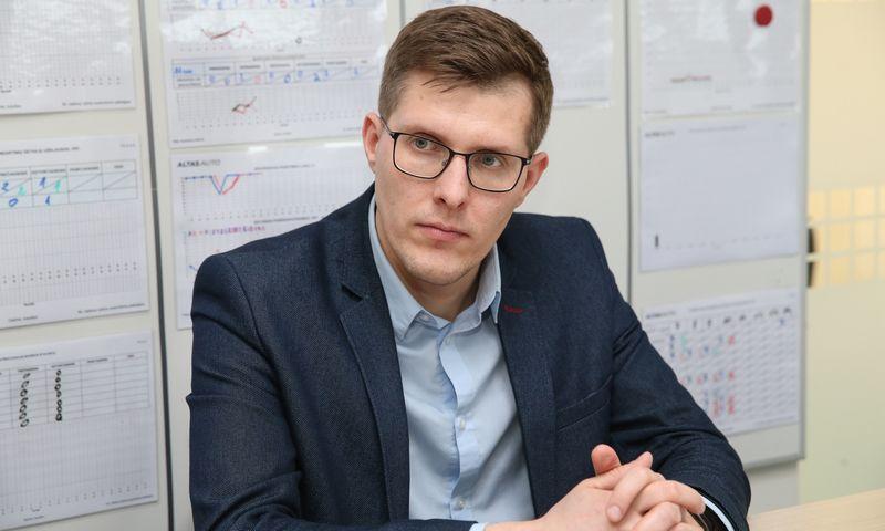 """Karolis Šimkus, """"Altas Auto"""" pardavimų vadovas.  Vladimiro Ivanovo (VŽ) nuotr."""
