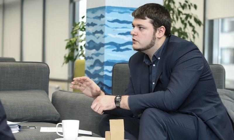 """Igoris Poliščukas, IT bendrovės """"Ruptela"""" pardavimų vadovas. Vladimiro Ivanovo (VŽ) nuotr."""