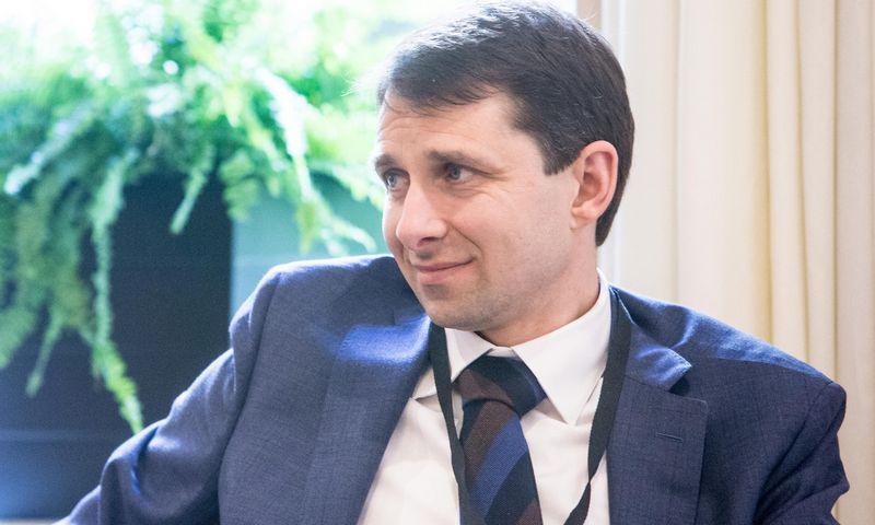 """Leonas Lingis, profesinių paslaugų bendrovės """"EY"""" Mokesčių ir teisės padalinio Baltijos šalyse vadovas. Juditos Grigelytės (VŽ) nuotr."""