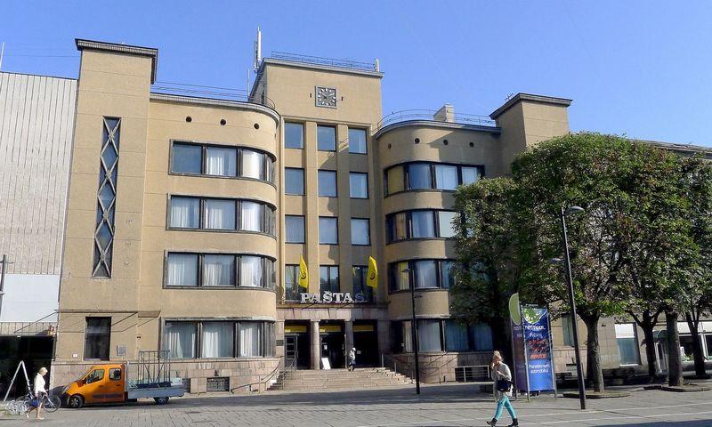 Kauno centrinis paštas. Algimanto Barzdžiaus nuotr.