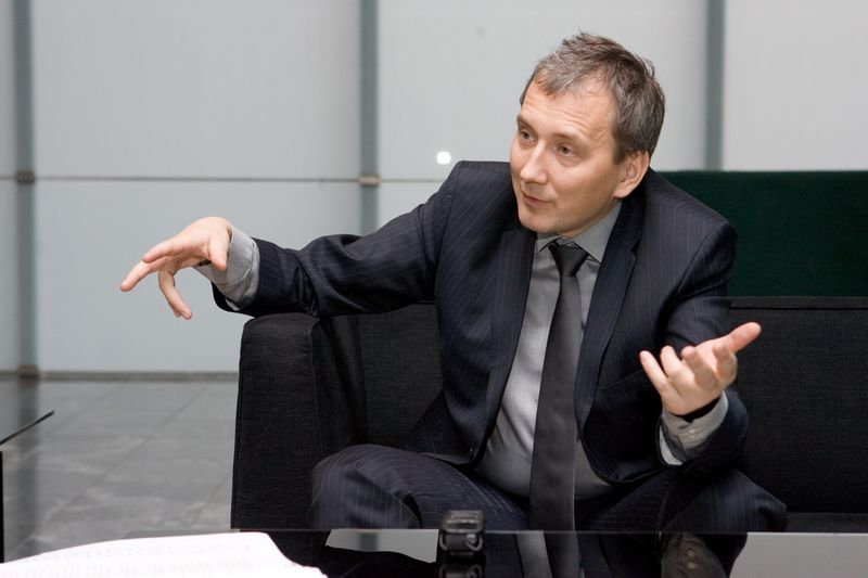 """Sandoras Liive, buvęs Estijos valstybinės energetikos kompanijos """"Eesti Energia"""" valdybos pirmininkas. Vladimiro Ivanovo (VŽ) nuotr."""