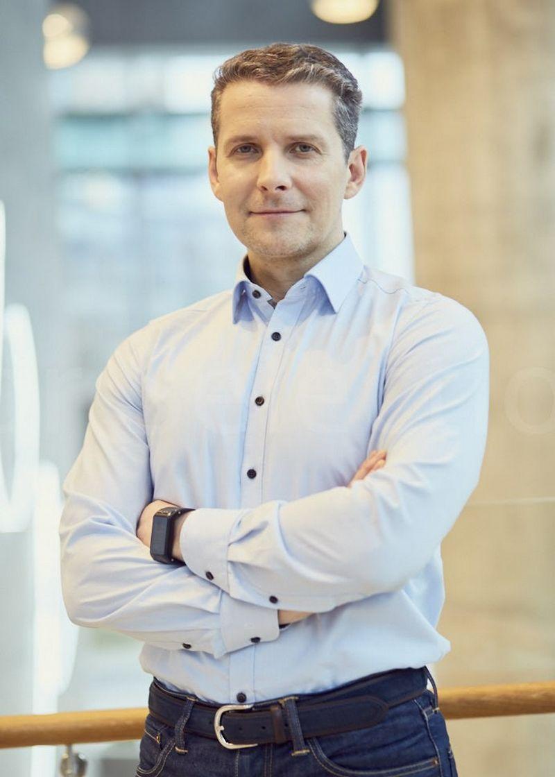 """Šarūnas Ruzgys, """"Luminor investicijų valdymo"""" generalinis direktorius."""
