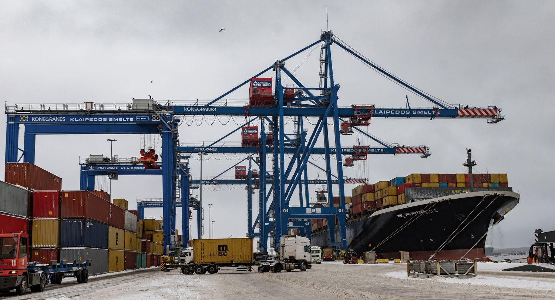 Klaipėdos uosto krova pirmąjį ketvirtį didėjo 11%